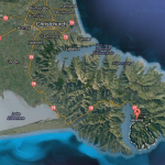 Map of Banks Peninsula