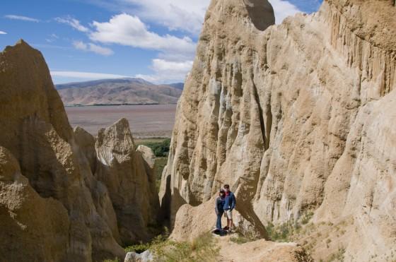 The Clay Cliffs were big