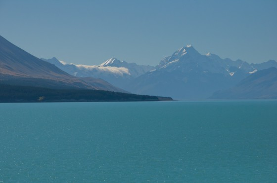 Mt. Cook and Lake Pukaki