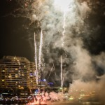 Fireworks above Darling Harbour