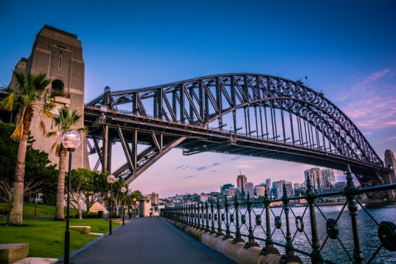 Harbour Bridge at Dawn
