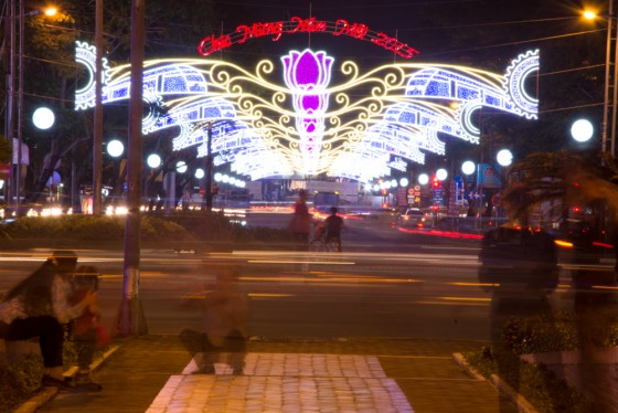The chaos of Ho Chi Minh