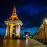 King's Statue, Phnom Penh, Cambodia