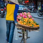 Street Merchant, Hanoi, Vietnam