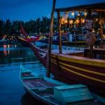 Hoi An riverfront, Vietnam