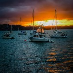Bay of Islands Sunset, New Zealand